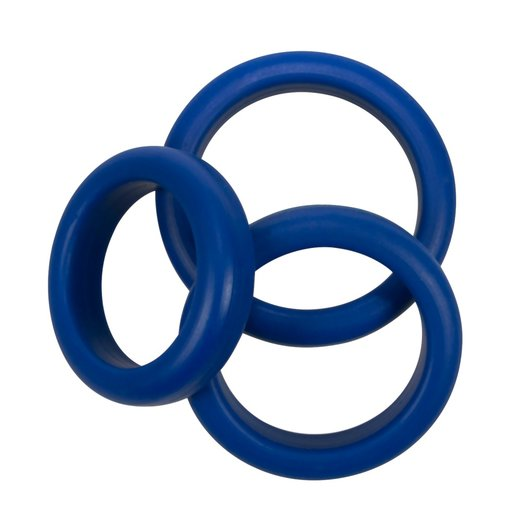 Blue Mate Cockring Set 3er